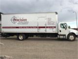 Precision Wood Finish Company big truck