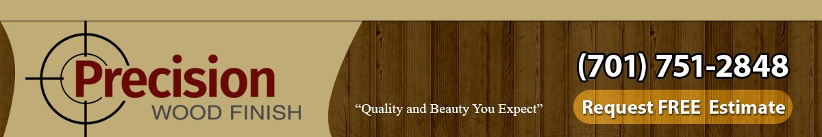 wood staining company bismarck nd