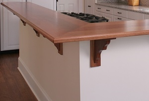 The Classic Touch Of Wood Bar Tops
