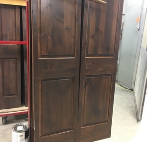 Stained Knotty Alder Trim Package Bismarck, ND
