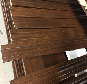 Stained Knotty Alder Trim Package Bismarck